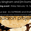 SHAHEED & SUPREME PERFORM AT CAULDRON PROJEKTS